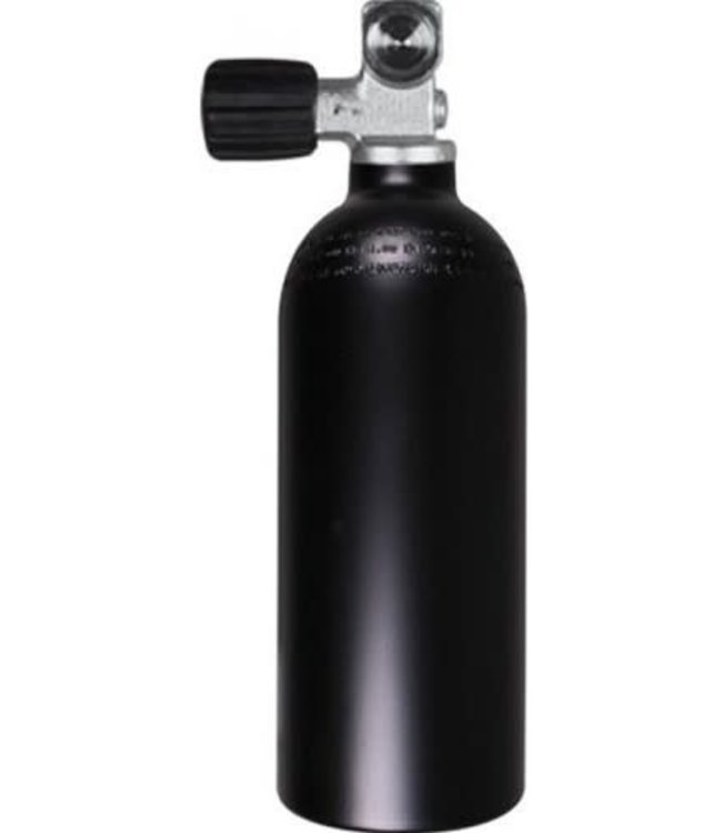 Aluminium Duikcilinder 2 liter 232 bar Mes met kraan