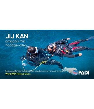 Padi PADI Rescue Diver Opleiding