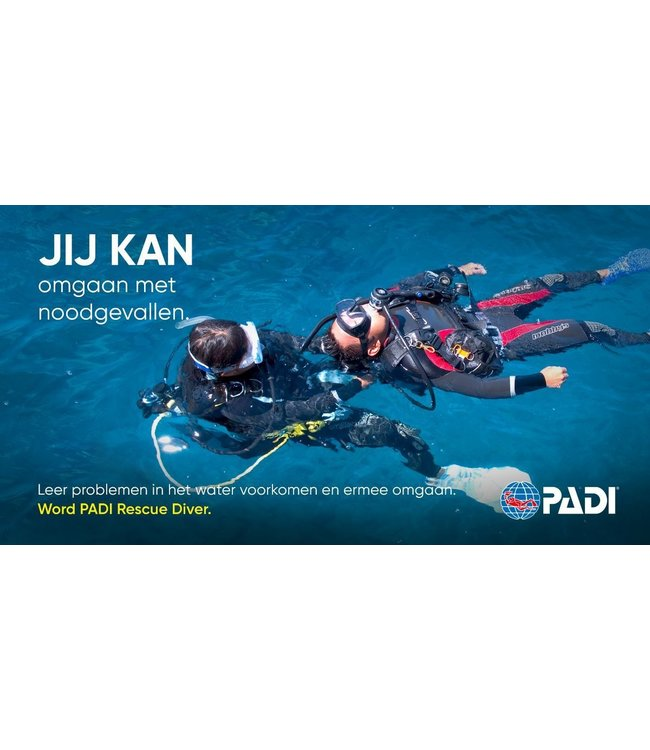 PADI Rescue Diver Opleiding