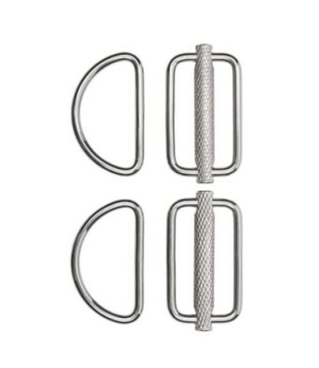 Stealth Slideable D-ring kit