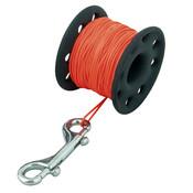 Tecline TEC coated spool 45 meter SS 100mm snap