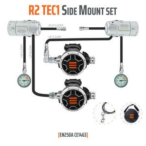 Tecline R2 TEC1 Sidemount set