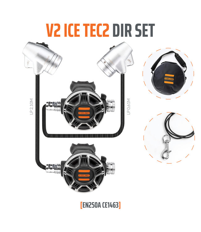 Tecline V2 Ice TEC2 DIR set