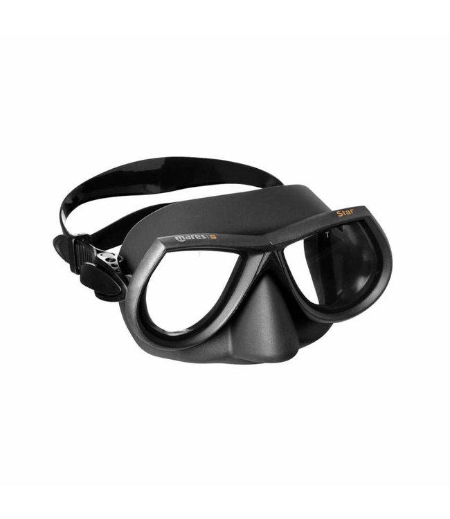 Mares Star masker Zwart
