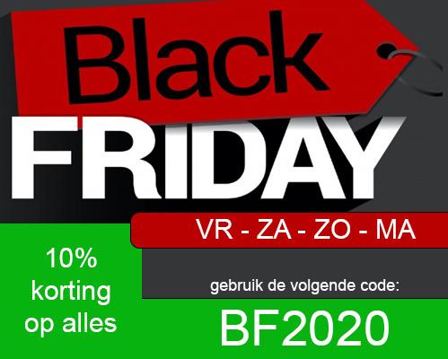 Black Friday t/m Cyber Monday KORTING