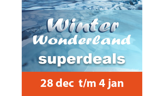 Superdeals tijdens Winter Wonderland