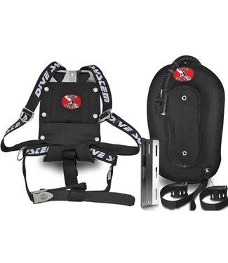 DiveSystem DiveSystem 3K Mod harness Donut 30lb wing