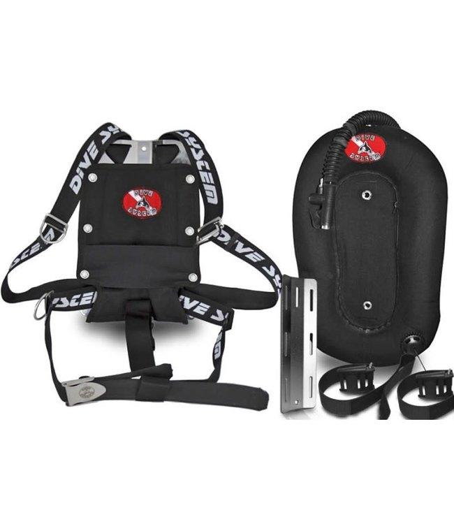 DiveSystem 3K Mod harness Donut 30lb wing