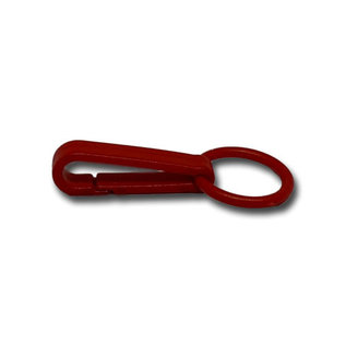 123Paracord Snap hook 40MM Rood