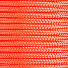 123Paracord Paracord 275 2MM Oranje Neon
