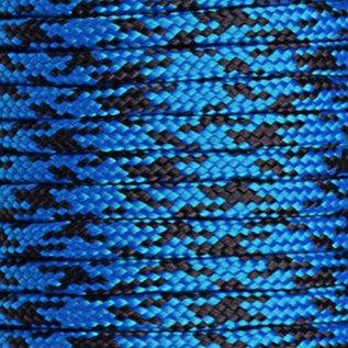 123Paracord Paracord 425 type II Blauw camo