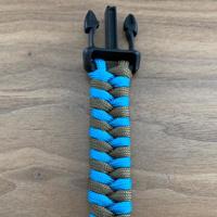 visgraat paracord knoop