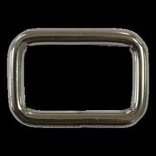 123Paracord Vierkante ring zwaar 25X15mm gelast