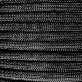 123Paracord 10MM PPM Touw Zwart