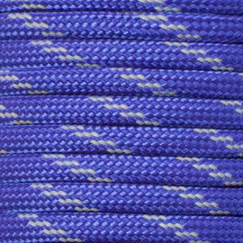 123Paracord Paracord 550 type III Royal blue Reflective