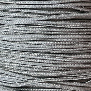 123Paracord Microcord 1.4MM Steel Grijs