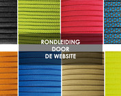 De website van 123paracord.nl verkennen