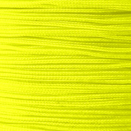 123Paracord Microcord 1.4MM Ultra Neon Geel