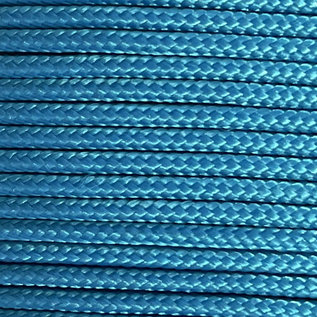123Paracord Paracord 275 2MM Cerulean Blauw