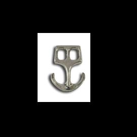 123Paracord Paracord sluiting anker Zilver