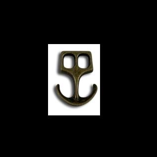 123Paracord Paracord sluiting anker Brons