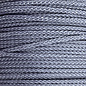 123Paracord Microcord 1.4MM Smoke Grey
