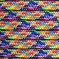 123Paracord 6MM PPM Touw Rainbow