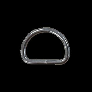 123Paracord Paracord D-ring zwaar 25MM X 4MM gelast