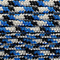 123Paracord Paracord 425 type II Blauw/wit
