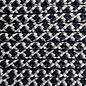 123Paracord Paracord 425 type II Zilver Grijs / Zwart Diamond