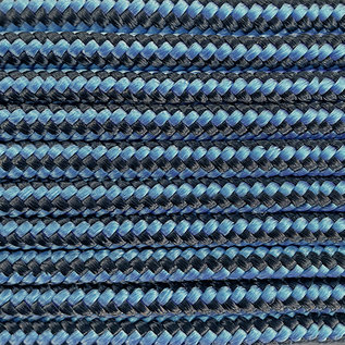 123Paracord Paracord 425 type II Dark Baby Blue Stripes