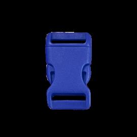 123Paracord Kunststof buckle steeksluiting 20MM Blauw