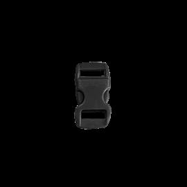 123Paracord Kunststof buckle steeksluiting 10MM Zwart
