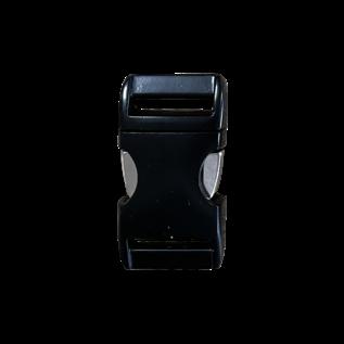 "123Paracord Alu-Max 25MM (1"") buckle Zwart"