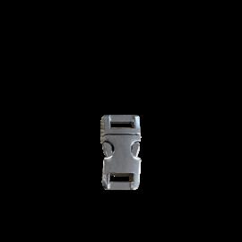 "123Paracord Alu-Max 10MM (3/8"") buckle Chrome"