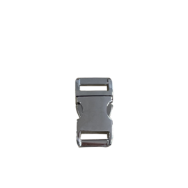 "123Paracord Alu-Max 15MM (5/8"") buckle Chrome"