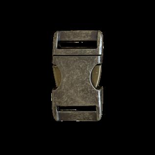 """123Paracord Alu-Max 25MM (1"""") buckle Antiek Brons"""