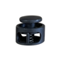 123Paracord Koordstopper rond zwart