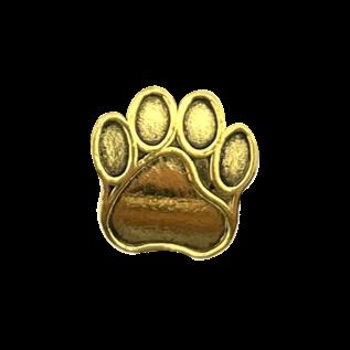 123Paracord Kraal hondenpoot goud