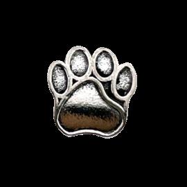 123Paracord Kraal hondenpoot Zilver