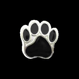 123Paracord Kraal hondenpoot Zwart