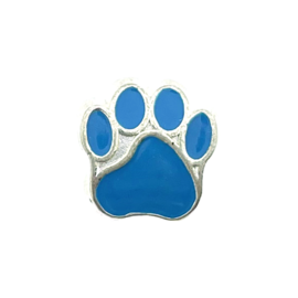 123Paracord Kraal hondenpoot Blauw