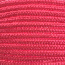 123Paracord Paracord 100 type I Roze Neon