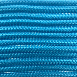 123Paracord Paracord 275 2MM Donker Cyan