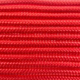 123Paracord Paracord 275 2MM Simply Rood
