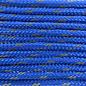 123Paracord Paracord 100 type I Royal Blauw Reflective