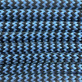 123Paracord Paracord 550 type III Donker Cyan Shockwave