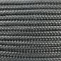 123Paracord Paracord 100 type I Charcoal Grijs