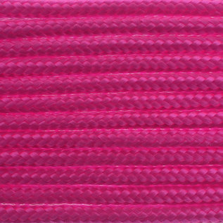 123Paracord Paracord 100 type I Ultra Neon Roze