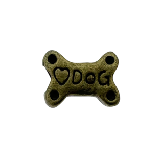 123Paracord Kraal Hondenbot Brons